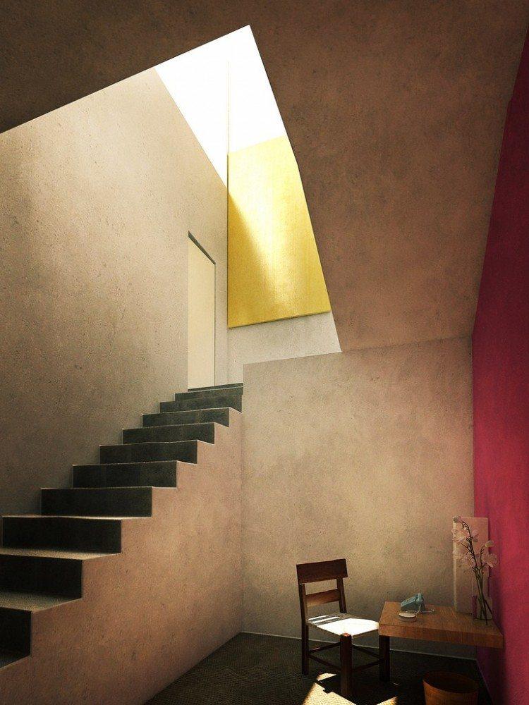 Casa luis barragan mott hupfel for Interior 1 arquitectura